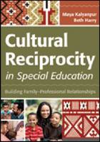Cultural Reciprocity in Special Education: Building Family-Professional Relationships (Paperback)