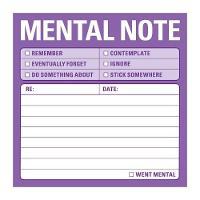 Knock Knock Sticky: Mental Note