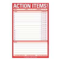 Knock Knock Action Items Pad (Stickers)