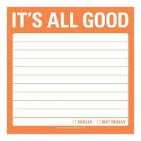 Knock Knock It`s All Good Sticky Note (Stickers)