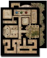 GameMastery Flip-Mat: Ancient Dungeon