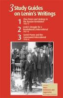 3 Study Guides on Lenin's Writings (Paperback)