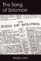 The Song of Solomon (Paperback)