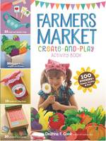 Farmers Market Create-and-Play Activity Book (Paperback)