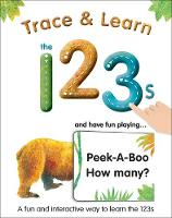 Trace & Learn the 123s (Board book)