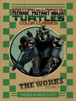 Teenage Mutant Ninja Turtles The Works Volume 2 (Hardback)