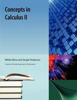 Concepts in Calculus II (Paperback)