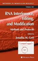 RNA Interference, Editing, and Modification: Methods and Protocols - Methods in Molecular Biology 265 (Paperback)