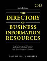 Directory of Business Information Resources 2015 (Paperback)