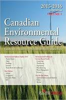 Canadian Environmental Resource Guide, 2015 (Paperback)
