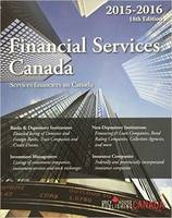 Financial Services Canada 2015 (Paperback)