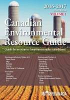 Canadian Environmental Resource Guide, 2016 (Paperback)