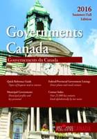 Government Canada: Summer/Fall 2016 (Paperback)