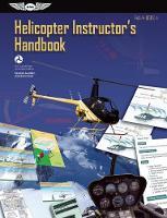Helicopter Instructor's Handbook: FAA-H-8083-4 - FAA Handbooks (Paperback)