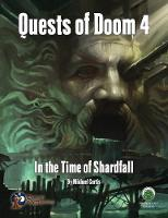 Quests of Doom 4: In the Time of Shardfall - Swords & Wizardry (Paperback)