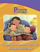 Proverbios, Proverbs: Bilingual Coloring and Activity Book - Bible Chapters for Kids (Paperback)