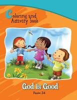 Psalm 34 Coloring and Activity Book: God Is Good - Bible Chapters for Kids (Paperback)
