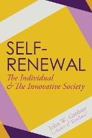Self-Renewal the Individual and the Innovative Society (Paperback)