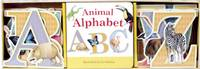 Animal Alphabet Book & Learning Play Set - Book & Learning Play Set (Hardback)