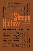 The Legend of Sleepy Hollow and Other Tales - Word Cloud Classics (Paperback)