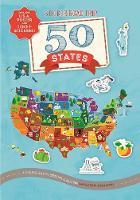 Sticker Road Trip: 50 States (Paperback)