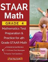 STAAR Math Grade 4: Mathematics Test Preparation & Practice for 4th Grade STAAR Math (Paperback)