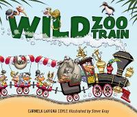 Wild Zoo Train (Hardback)