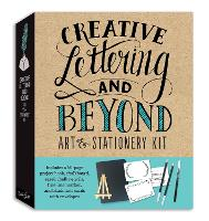 Creative Lettering and Beyond Art & Stationery Kit: Includes a 40-page project book, chalkboard, easel, chalk pencils, fine-line marker, and blank note cards with envelopes - Creative...and Beyond