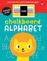 Chalkboard Alphabet: Learn the ABCs with chalkboard pages! - Chalkboard Concepts (Board book)