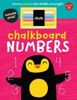 Chalkboard Numbers: Learn numbers with chalkboard pages! - Chalkboard Concepts (Board book)