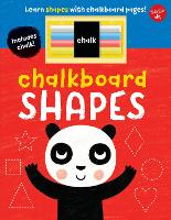 Chalkboard Shapes: Learn shapes with chalkboard pages! - Chalkboard Concepts (Board book)