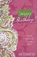 Gift New Testament-KJV-Birthday (Paperback)