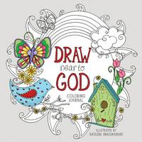 DRAW NEAR TO GOD: A Coloring Journal (Paperback)