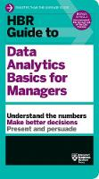 HBR Guide to Data Analytics Basics for Managers (HBR Guide Series) - HBR Guide (Paperback)
