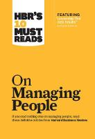 "HBR's 10 Must Reads on Managing People (with featured article ""Leadership That Gets Results,"" by Daniel Goleman) - Harvard Business Review Must Reads (Hardback)"