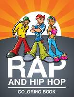 Rap and Hip Hop Coloring Book (Paperback)