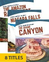 Natural Wonders of the World (Library Bound Set of 8)