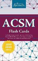 ACSM Certification Review Book of Flash Cards: ACSM Test Prep Review with 300+ Flashcards for the American College of Sports Medicine Certified Personal Trainer Exam (Paperback)
