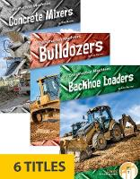 Construction Machines (Set of 6) (Paperback)