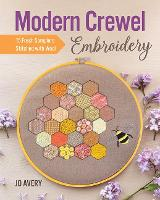 Modern Crewel Embroidery: 15 Fresh Samplers Stitched with Wool (Paperback)