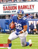 Biggest Names in Sports: Saquon Barkley: Football Star (Paperback)