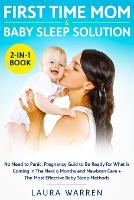 First Time Mom & Baby Sleep Solution 2-in-1 Book