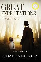 Great Expectations (Annotated, Large Print)