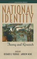 National Identity: Theory and Research - Cross National Research (Hardback)