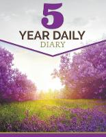 5 Year Daily Diary (Paperback)