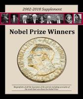 Nobel Prize Winners, 2002-2018 Supplement