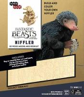 IncrediBuilds: Fantastic Beasts and Where to Find Them: Niffler 3D Wood Model and Booklet - Incredibuilds