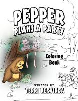 Pepper Plans a Party: Coloring Book (Paperback)