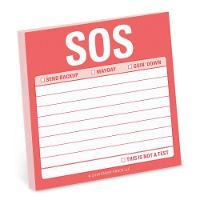 Knock Knock SOS Sticky Note (Stickers)