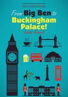 From Big Ben to Buckingham Palace! London Journal (Paperback)